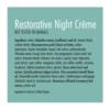 noční regenerační krém